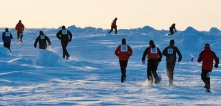 North Pole runners (source: Andrei's blog)
