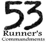 53 de invataminte pentru alergatori...