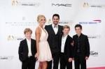 Don Diamont and Katherine Kelly Lang in Montecarlo for the Television Festival